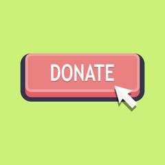 Pressing donate button