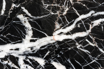 detail of structure of black marble texture high resolution