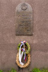 Belgrade, Serboa Marth 03, 2016: Memorial plaque dedicated to Mayor Dragutin Gavrilovic