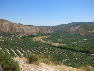Huesa, localidad de Jaén, Andalucía (España) perteneciente a  Cazorla