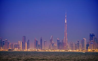 Dubai downtown skyline