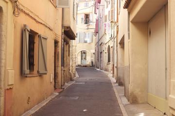 Narrow summer street