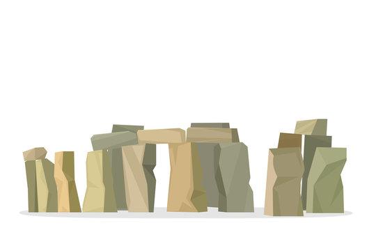 Stonehenge icon isolated on white background