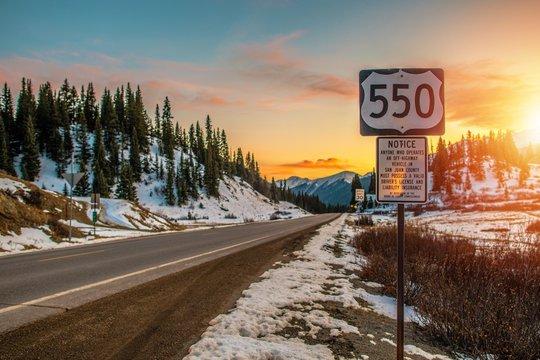 Colorado Highway 550
