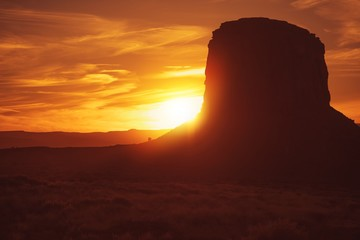 Norther Arizona Desert Sunset