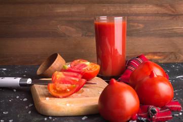 Tomato Juice Cooking