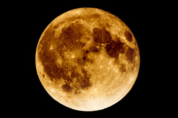 Lunar eclipse - Full Moon Luna
