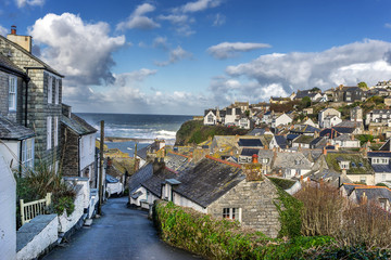 Port Issac in Cornwall in south west England