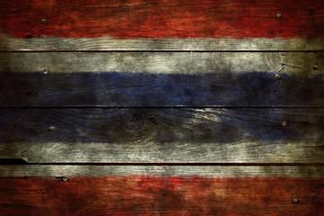 Wall Mural - flagge thailand