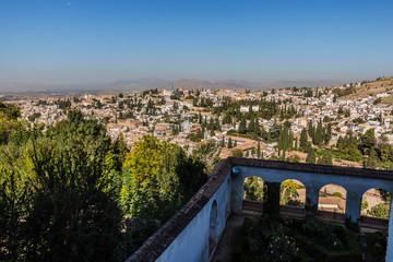 Alhambra, Alcazaba, Granada