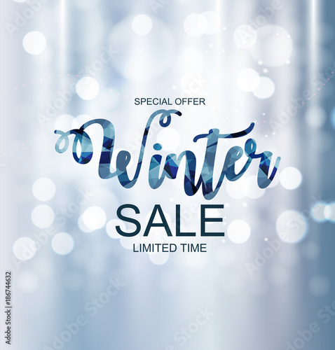 Winter Sale Banners Roll Stand Banners