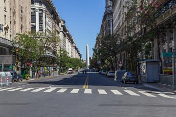 Türaufkleber Buenos Aires Obelisco in Buenos Aires