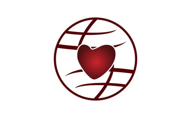 Love Happy Valentine's Day Template