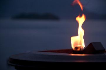 Lago fiamma