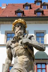 Neptunbrunnen in Weimar