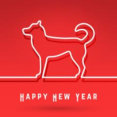 Dog - Chinese symbol New Year