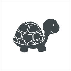 Turtle icon. Vector Illustration