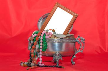 memories among the jewellery
