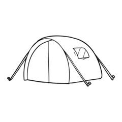 cartoon tent