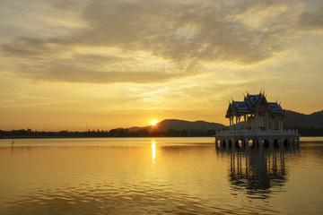 Evening Beauty at Khao Tao Reservoir, Thailand