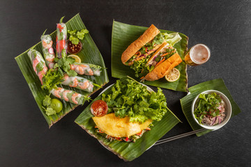 生春巻きとベトナム料理 Vietnamese variety