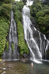 Wall Murals Waterfalls Banyumala Twin Waterfalls