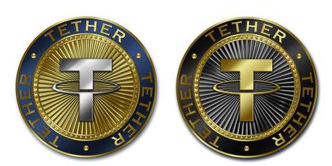 Cryptocurrency TETHER coin