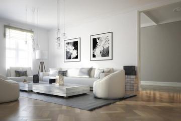 Raumadaptation: Wohnzimmer (Konzept)