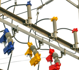 Automatic fuze ceramic High voltage power wire