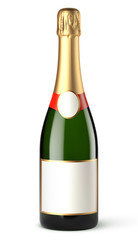 Bouteille de champagne vectorielle 7