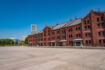 横浜・赤レンガ倉庫とランドマークタワー