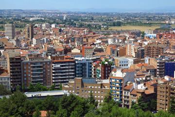 Lleida in Katalonien, Spanien