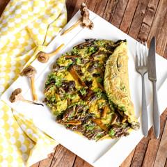 omelette aux champignons 2