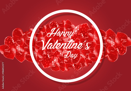 creative concept happy valentines day creative valentines day happy valentines day background happy