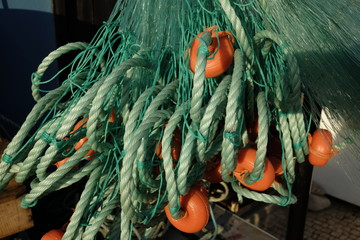 fishing nets and equipment