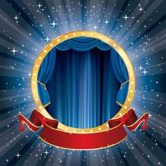 circus star burst banner