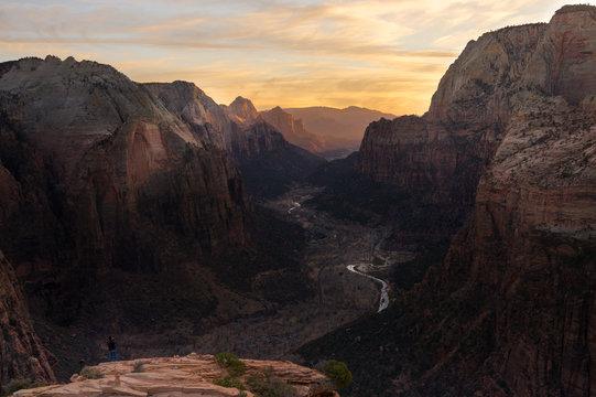 The PhotographerZion National Park Sunset