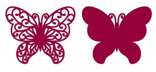 Butterfly For Laser Cutting