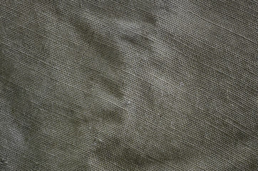 The texture of a very old brown sack cloth. Retro texture with canvas material. Background image with copy space