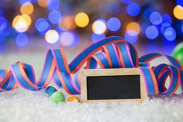 Hintergrund Bokeh Nacht Party Silvester Fasching
