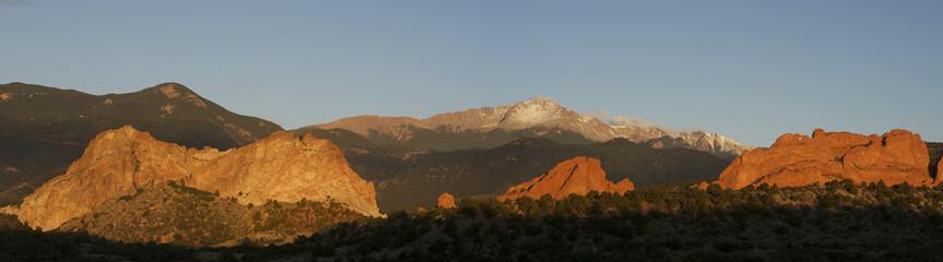 Summer Snow Pikes Peak