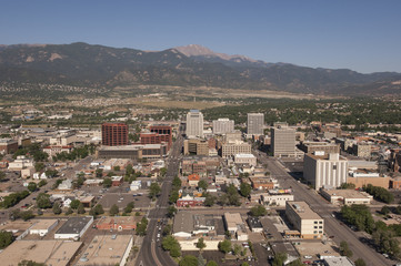 Colorado Springs Aerial