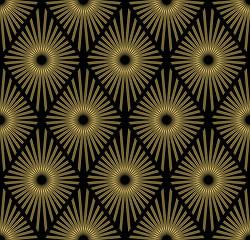 Art Deco seamless pattern.decoration ornament.
