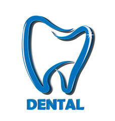 Dental tooth icon