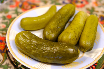 Pickles with Dill and Spices