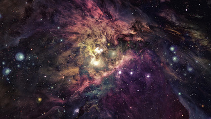 Futuristic abstract space background. Elements of this image furnished by NASA