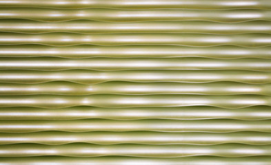 background texture golden undulating metal