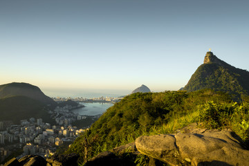 Fototapete - Panorama of Rio de Janeiro, Brazil