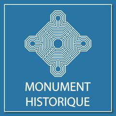 Logo monument historique