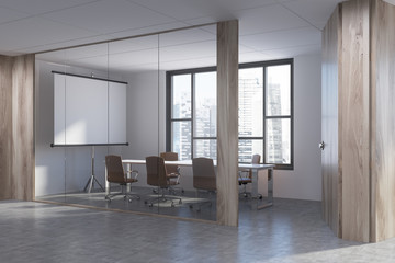 Conference room and lobby